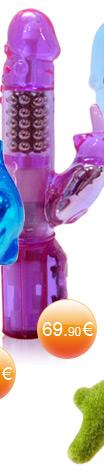 Vibromasseur Crazy Rabbit couleur lavande 22 cm