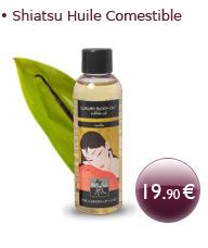 Huile de Massage Comestible Vanille