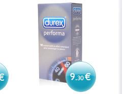 Durex Performa - 10 préservatifs retardants