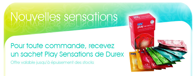 Dosette gel lubrifiant Durex Play Sensation